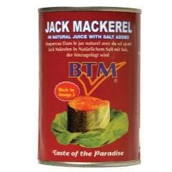 Jack Mackerel in Natural Juice 400 g