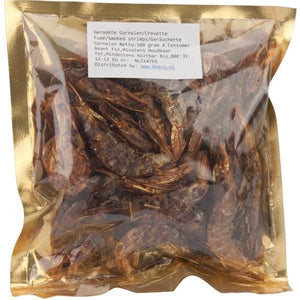 Shrimps Red Traditionally Smoked Whole Bigi Mama 100 g