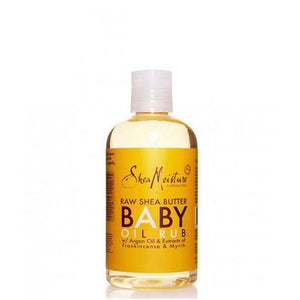 Shea Moisture Raw Shea Butter Baby Oil Rub 8oz