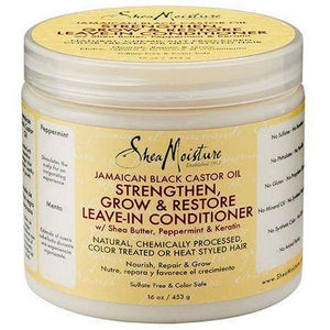 Shea Moisture Jamaican Black Castor Oil Strengthen Grow and Restore Leave-in Conditioner 453 g