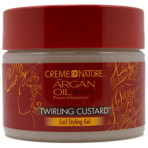 Creme of Nature Argan Oil Twirling Custard