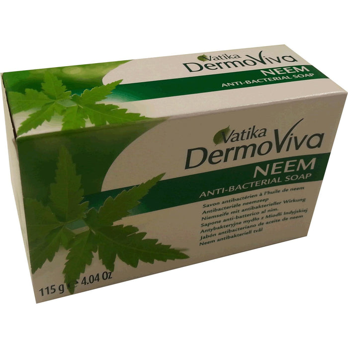 Vatika Dermoviva Anti Bacterial Soap Neem 115 g