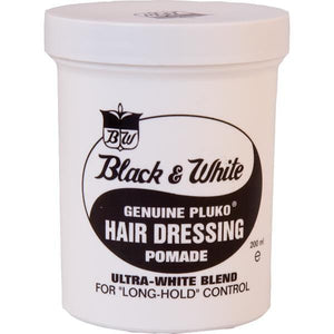 Black & White Pomade 7 oz