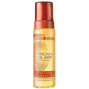 Creme of Nature Argan Oil Style and Shine Foarming Mousse 207 ml