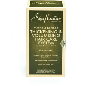 Shea Moisture Yucca & Baobab Thickening & Volumizing Hair Care System