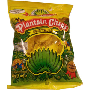 Tropical Plantain Chips Lightly Salted 85 g