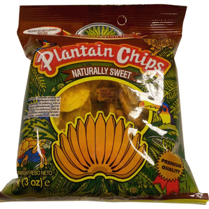 Tropical Plantain Chips Naturally Sweet 85 g