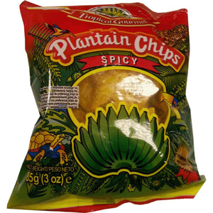 Tropical Plantain Chips Spicy 85 g