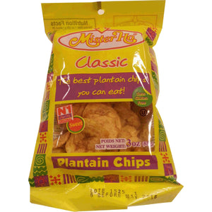 Mister Ho Classic Sweet Plantain Chips 3 oz