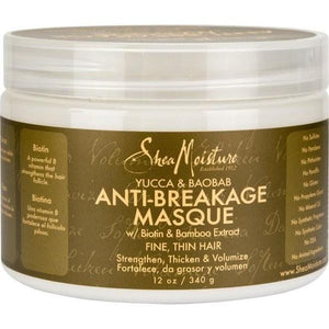 Shea Moisture Anti Breakage Treatment Masque 12 oz