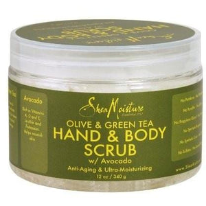 Shea Moisture Olive Oil and Green Tea Hand and Body Scrub 340 g
