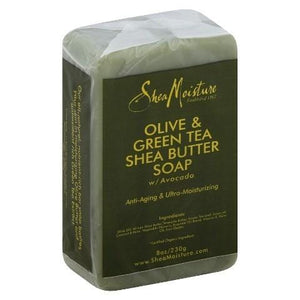 Shea Moisture Olive and Green Tea Shea Butter Soap 230 g