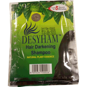 Desyham Hair Darkening Shampoo Conditioner (Black) 26 ml