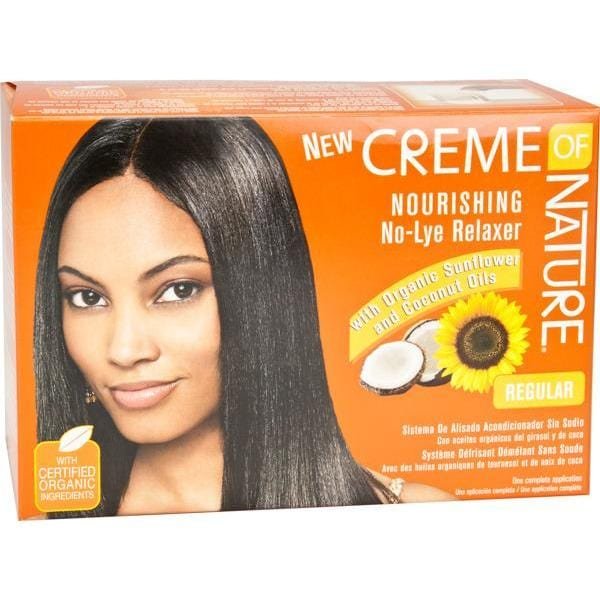 Creme Of Nature No Lye Relaxer Kit Regular