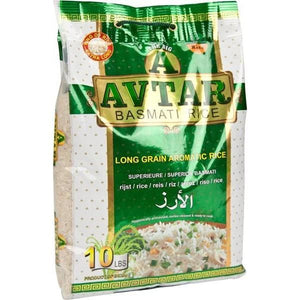 Avtar Basmati Rice Big A Green 4.5 kg