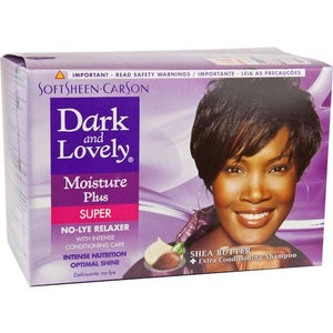 Dark and Lovely No Lye Relaxer Kit Super