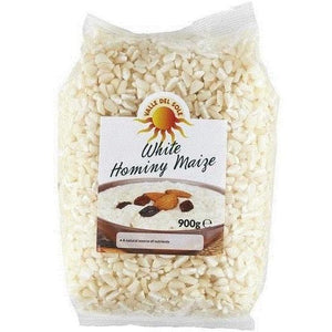 Valle Del Sole White Hominy Maize 900 g