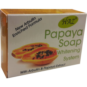 HAZ Papaya Whitening Soap 100 g