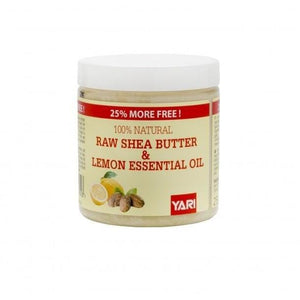Yari Raw Shea Butter and Lemon Essential Oil 225 g