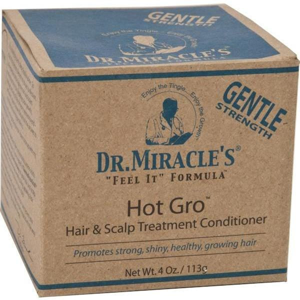 Dr. Miracle Hot Gro Gentle Medicated Treatment 4 oz