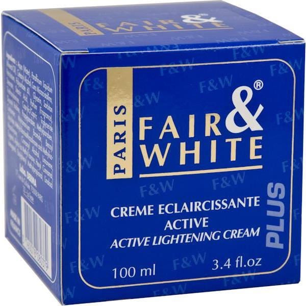 Fair & White Cream Active Lightening Cream 100 ml