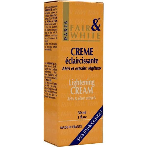 Fair & White Cream Eclaircissant Aha 30 ml