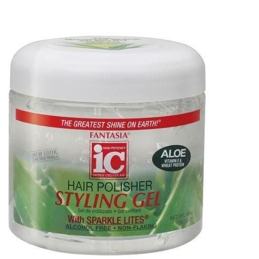 IC Fantasia Polisher Styling Gel (White) 16 oz.