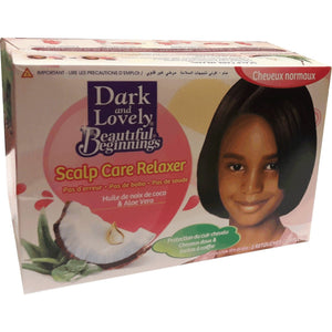 Dark and Lovely Beautiful Beginnings  No Mistake Smooth Relaxer