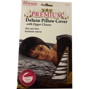 Annie Delux Pillow Cover Zipper Closure