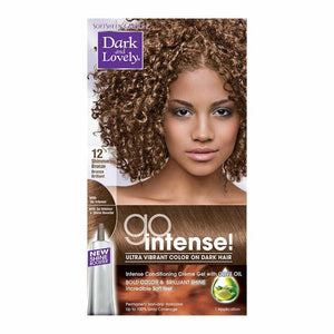 Dark and Lovely Go Intense Shimmering Bronze Ultra Vibrant Color