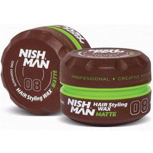 Nish Man Hair Styling Wax Matte 150 ml