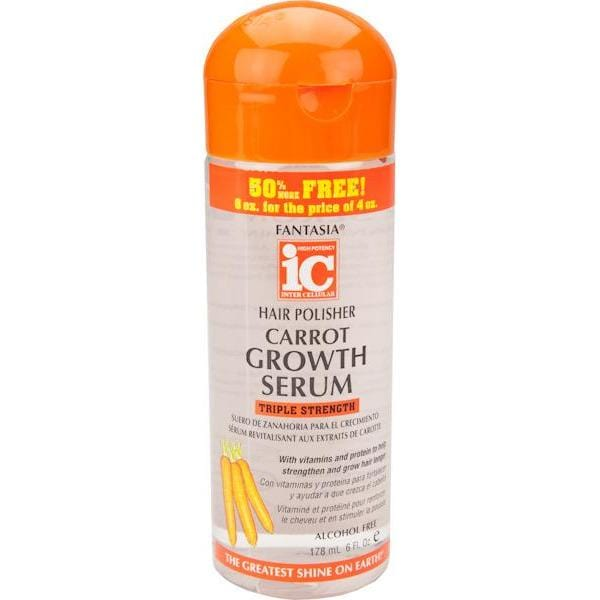 IC Fantasia Hair Polisher Carrot Growth Serum 6 oz