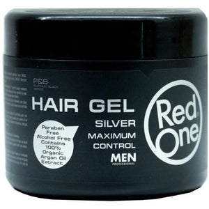 Redone Hair Gel Silver Maximum Control Men 500 ml