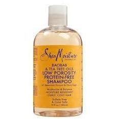 Shea Moisture Baobab Tree Oils Low Porosity Protein Shampoo 384 ml
