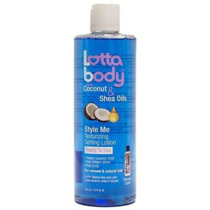 Lotta Body Coconut Shea Oils Style Me Texturizing Setting Lotion 354 ml