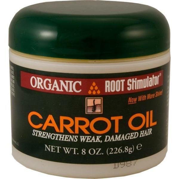 Organic Root Carrot Oil Pomade 8 oz