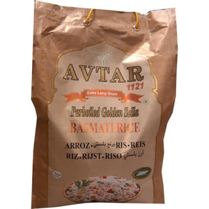 Avtar Extra Long Grain Parboiled Golden Sella Basmati Rice 4,60 kg