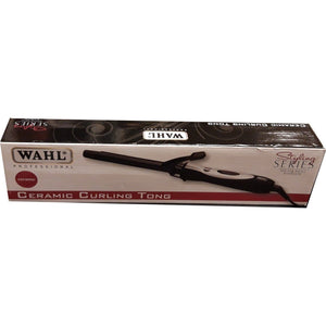 WAHL Ceramic Curling Tong 25 inch