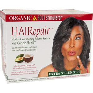 Organic Root Relaxer Kit Hair Repair Super