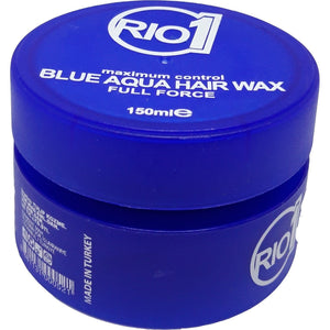 Rio One Blue Aqua Hair Wax Full Force 150 ml