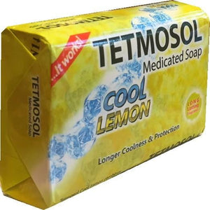 Tetmosol Medicated Soap Cool Lemon 70 g