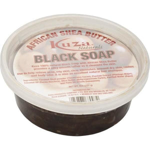 Kuza African Shea Black Soap 8 oz