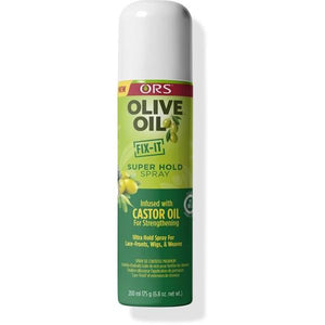 ORS Olive Oil Fix-it Super Hold Spray Castor Oil 200 ml