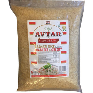 Avtar Basmati Rice Diabetes and Obesity 5 kg