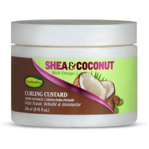 Sof n'free Gro Healthy Shea & Coconut Curling Custard 246 ml
