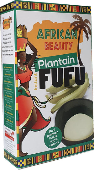 African Beauty Fufu Plantain 681 g