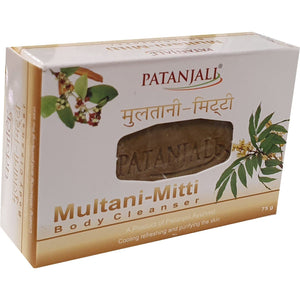 Patanjali Multinai Mitti Body Cleanser 75 g