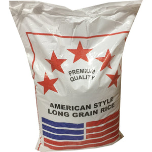 American Style Long Grain Rice 20 kg