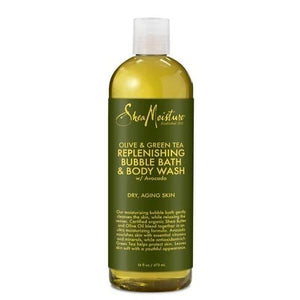 Shea Moisture Olive and Green Tea Replenishing Body Wash 384 ml