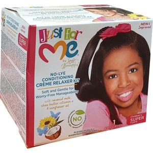 Just for Me No Lye Conditioning Creme Relaxer Super Kids
